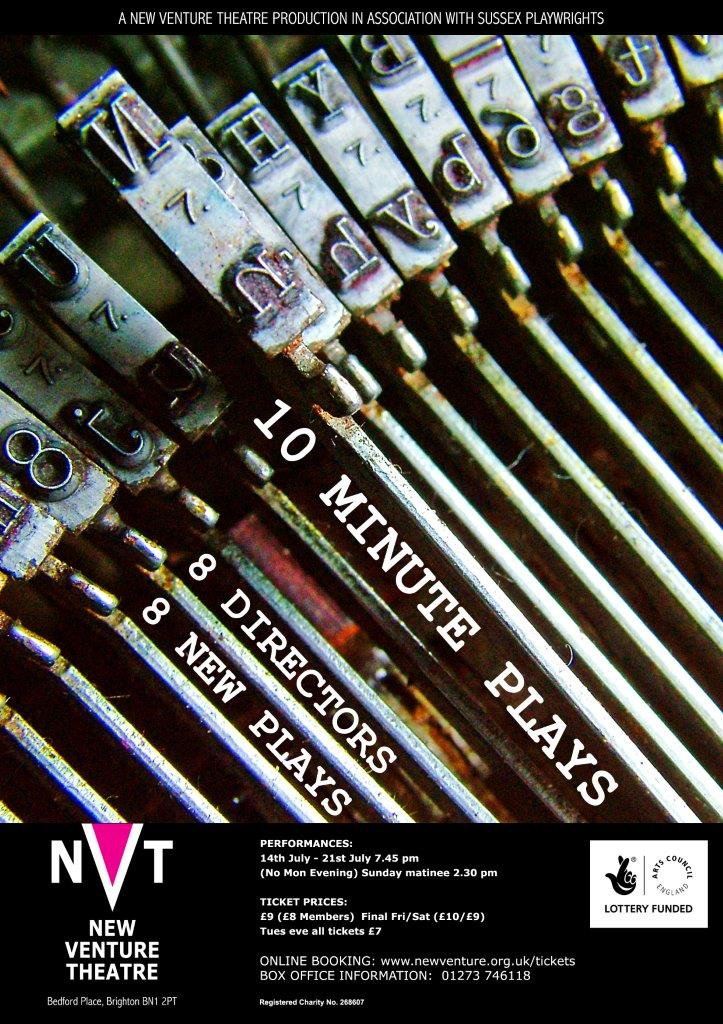 Done Using Photography Nothing Else Would Have Got The Close Up Detail In Typewriter Typebars Poster For NVTs 10 Minute Plays Competition